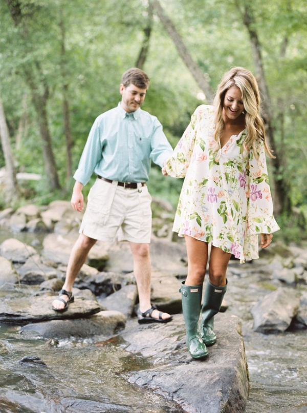 Sweet Georgia Engagement