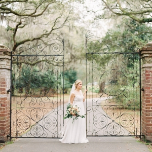 Classic Southern Bridal Portrait In Charleston