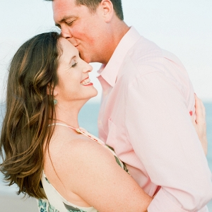 Pastel North Carolina Engagement