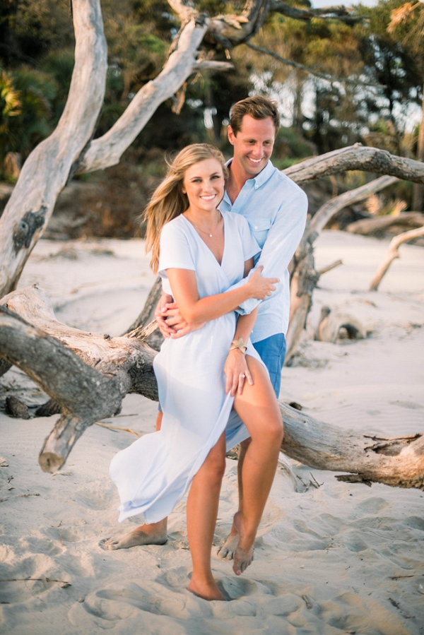 Botany Bay Beach Engagement