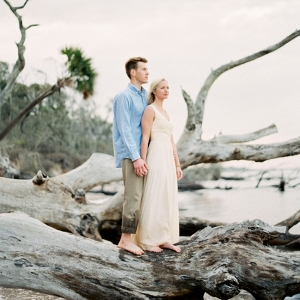 Little Talbot Island Engagement