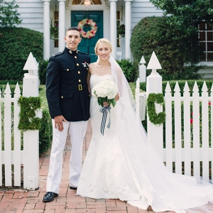 Preppy Striped Wedding