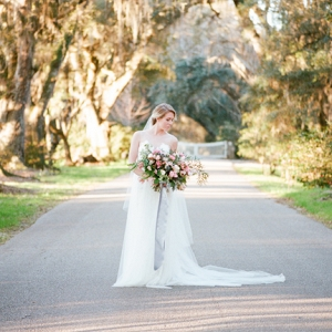 Magnolia Plantation Bridal Portraits