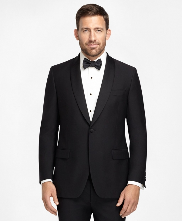 One-Button Fitzgerald Tuxedo found on Aisle Society