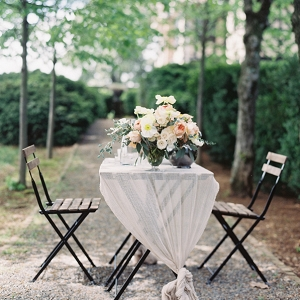 Rustic Elegant Pastel Wedding Table