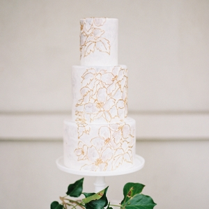 floral print cake on Elizabeth Anne Designs
