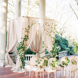Dramatic Ceremony Chuppah on Elizabeth Anne Designs
