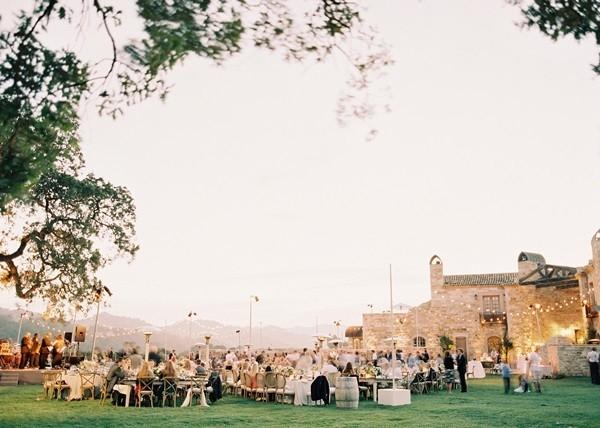 Sunstone Winery Wedding Reception