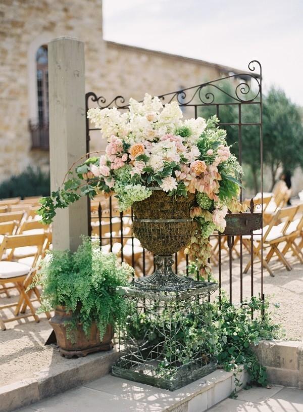 Elegant Ceremony Flowers