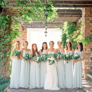 Bridesmaids from Nouvelle Amsale