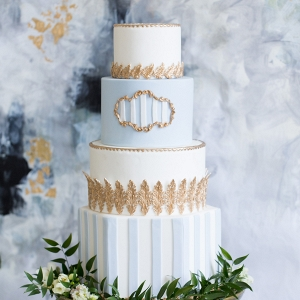 French Inspired Wedding Cake