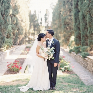 Garden wedding portrait on Elizabeth Anne Designs