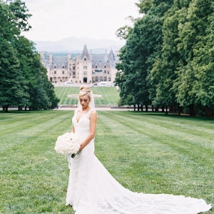 Bride at Biltmore House