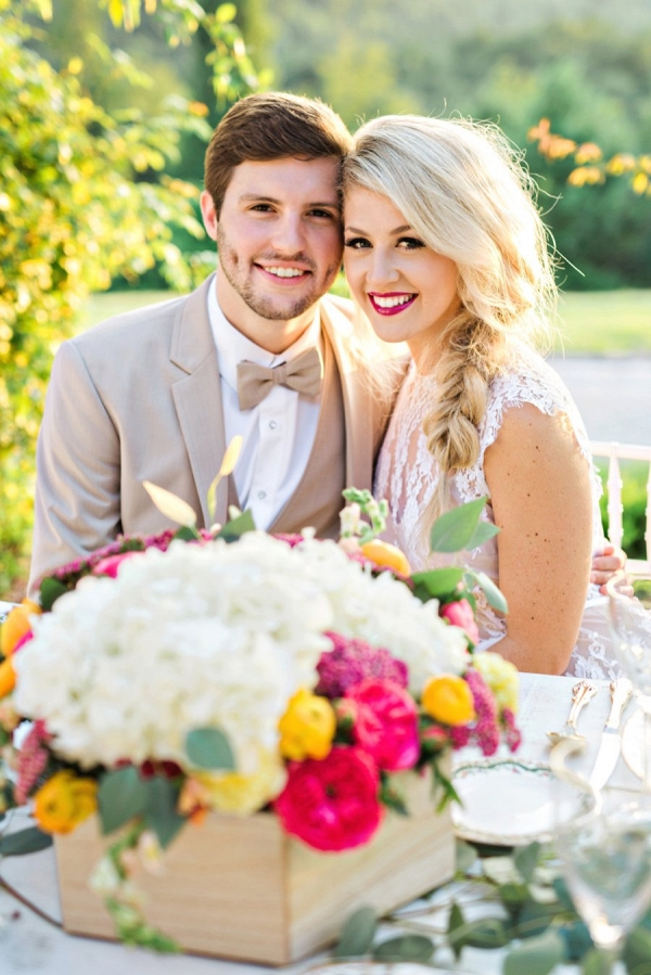 colorful farm wedding inspiration from Every Last Detail