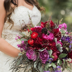 Jewel Toned Florida Garden Wedding from Every Last Detail