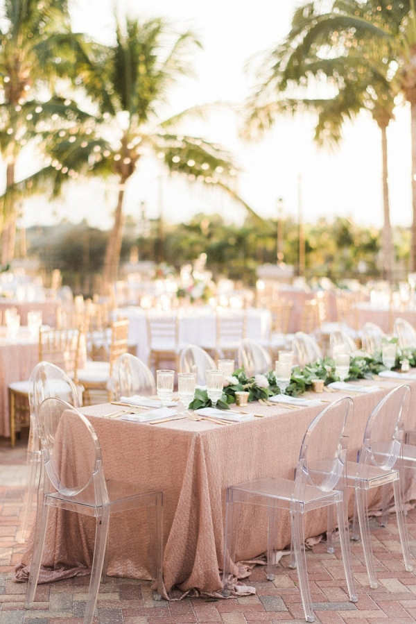 modern and elegant blush and gold wedding on Every Last Detail