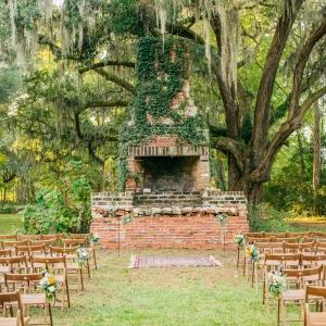 The Barn at Walnut Hill ceremony setup