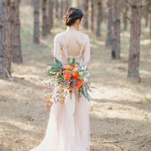 Dreamy & romantic bridal style