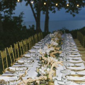 One Long Elegant Table