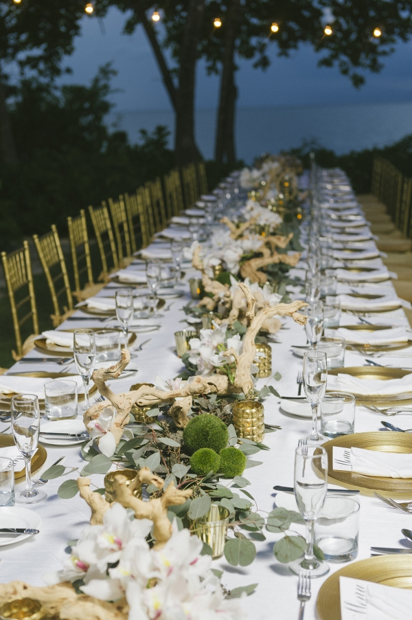 One Long Elegant Table