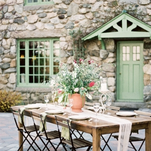 Tuscan Style Reception