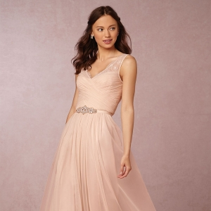 BHLDN Floor Length Fleur Dress For Bridesmaids