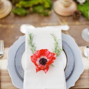 elegant woodland wedding inspiration on Glamour & Grace