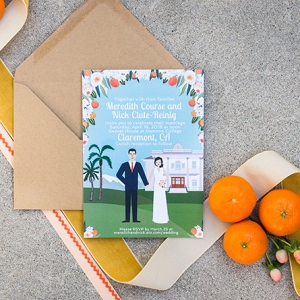 handmade citrus themed wedding by Peterson Design + Photography on Glamour & Grace