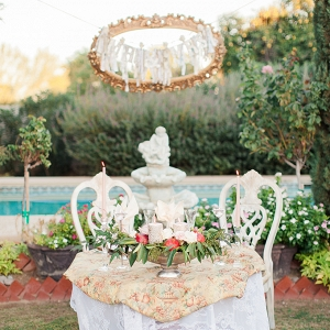 handmade vintage backyard wedding from Dan & Erin PhotoCinema on Glamour & Grace