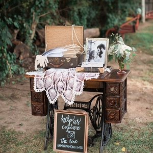 vintage barn wedding by Lindsay Campbell Photography on Glamour & Grace