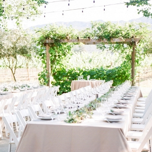 romantic Napa wedding by White Ivory Photography on Glamour & Grace