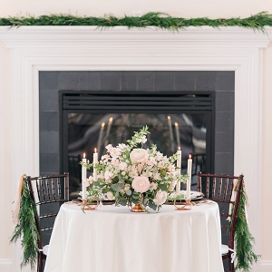 romantic winter wedding inspiration from Amanda Adams Photography on Glamour & Grace