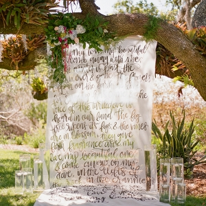Florida vintage garden wedding inspiration by Emily Katharine Photography on Glamour & Grace