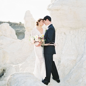Dramatic Desert Elopement Shoot