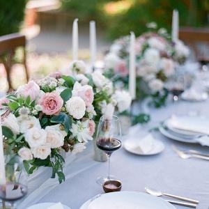 French Garden Inspired Wedding Decor
