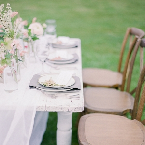 Whimsical and Romantic Farm Table with Pastel Decor