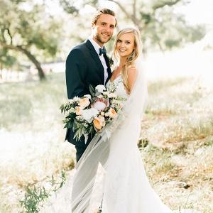 Stylish and Romantic SoCal Wedding