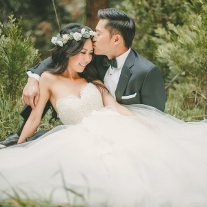Whimsical Post Wedding Portraits with the Bride and Groom