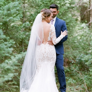 Glamorous Woodland Wedding Portraits