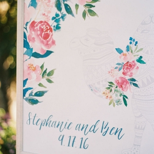 Coloring Book Seating Chart for Guests to Fill In