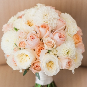 Classic Blush and Ivory Bouquet