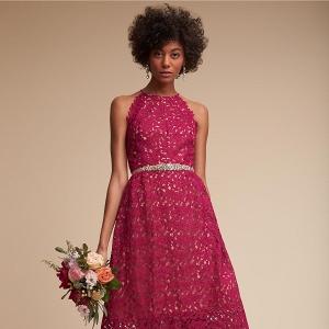 lace bridesmaids dress