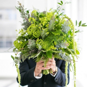 Greenery Wedding Bouquets | Evergreen Wedding Flowers
