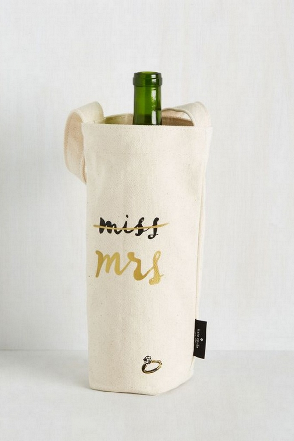 Wine Bottel Tote Bag