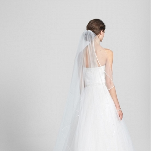 Satin Cathedral Veil