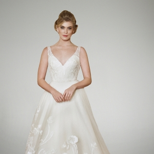 Matthew Christopher Breathless Collection Wedding Gown