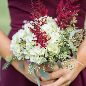 Outdoor Rustic Fall Wedding Bouquet