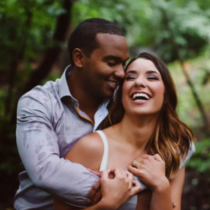 Rainy Day Engagement Session