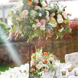 Raised Centerpiece Wedding Decor
