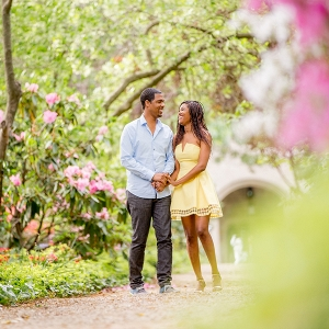 Botanical Garden Engagement Session